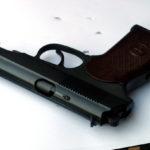 ПМ-образный пистолет после щелочного воронения